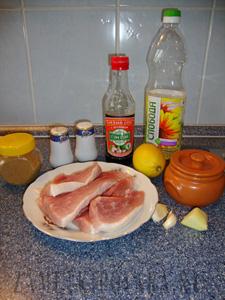 Стейк из свинины в кисло-сладком маринаде