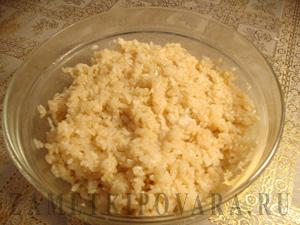 Рис для суши с соевым соусом