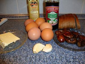 Яйца с финиками