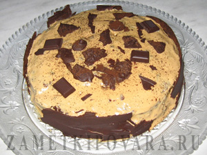 Торт кофейно-шоколадный