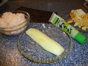Тэмаки с французским омлетом и огурцом