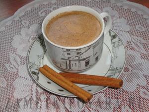 Кофе по-восточному на молоке