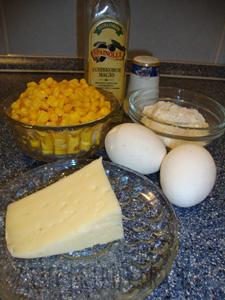 Оладьи из кукурузы с сыром
