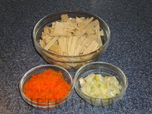 "Салат из ""спаржи"" по-корейски"