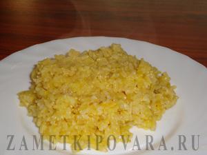 Бурый рис в апельсиновом соке