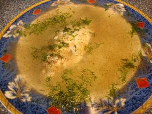 Рыбный суп с карасиками