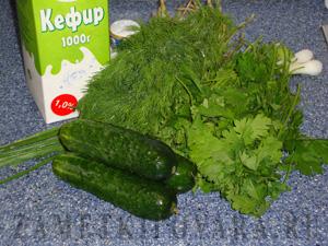 """Холодный суп """"Чалоп"""" (узбекская кухня)"""