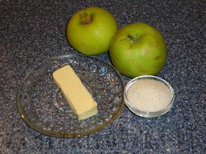 Карамелизованные яблоки