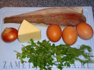 Рыбная запеканка в фольге