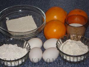 Творожно-апельсиновое суфле