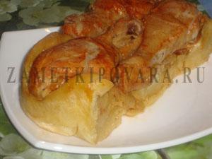 Курица в пироге