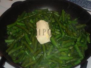 Печень со стручковой фасолью