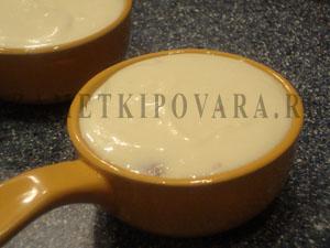 Творожное суфле с клубникой