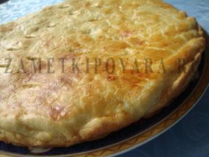 Песочный пирог с тыквой