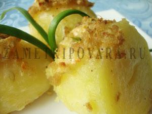 Картофель, запеченный в имбирном соусе
