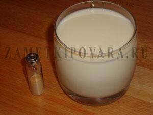 Кефирная закваска с бифидумбактерином