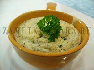 Сырное суфле с эстрагоном