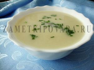 """Картофельный суп """"Вишисуаз"""""""