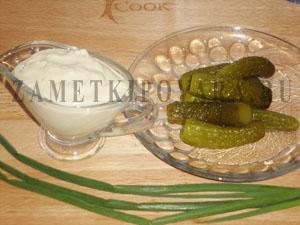 Легкий татарский соус