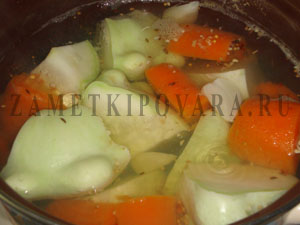 Суп-пюре из патиссон