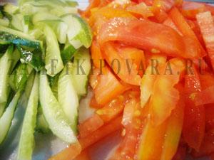 Овощная шаурма