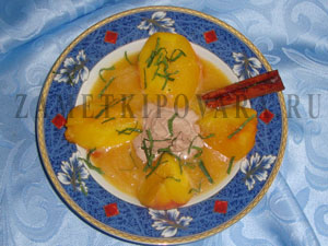 Персиковый суп