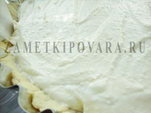 Творожный тарт с дыней