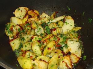 Картошка в казане