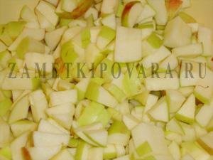 Яблочный крамбль