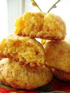 """Морковное печенье """"Лимончики"""""""