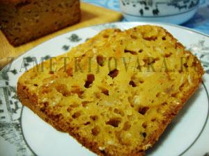Фруктовый кекс с орехами