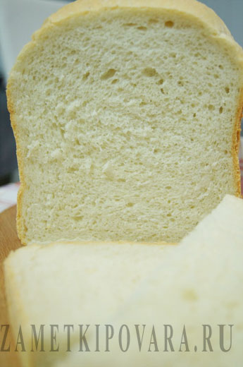 Белый хлеб с творогом