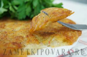Картофель рёшти