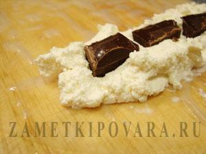 Спринг роллы с творогом и шоколадом