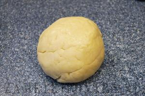 Песочный торт с заварным кремом