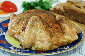 Галантин из курицы