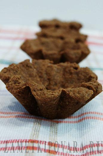 Пирожное Шоколадная корзиночка