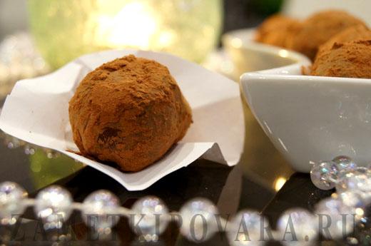 Домашние шоколадные конфеты Трюфели