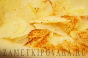 Домашние чипсы в духовке