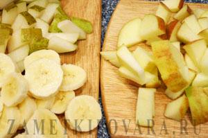 Сладкий омлет с фруктами