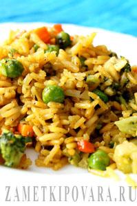 Рис с овощами по-арабски