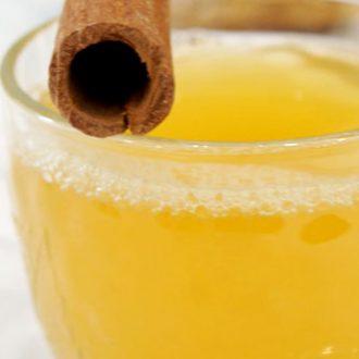 Пряный чай с апельсином