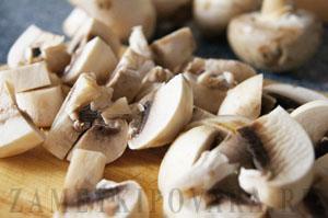 Пшенная каша с грибами