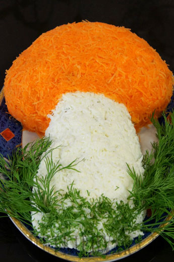 салат грибок фото и рецептами
