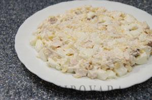 Салат Мыши в сыре