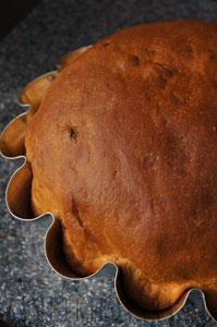 Пасхальный кулич на кефире