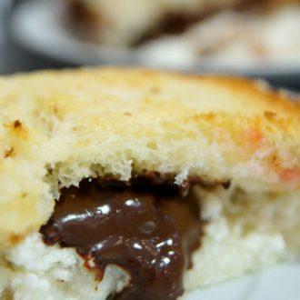Творожный десерт с белым хлебом
