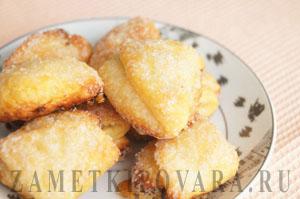Творожное печенье поцелуйчики