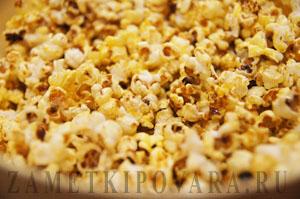 Домашний попкорн с пряностями