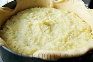 """Греческий пирог с картофелем и рисом """"Пататопита"""""""